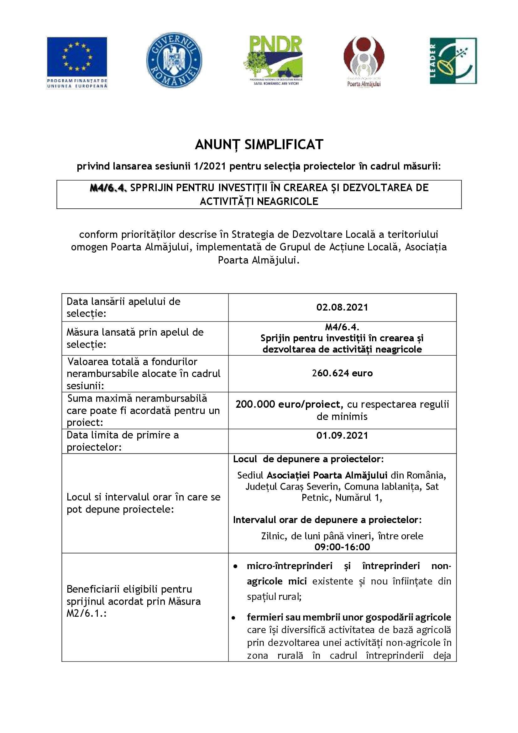 16.anunt lansare simplificat m4 6.4 00001