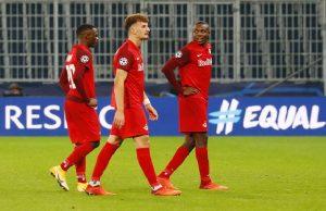 champions league group a fc red bull salzburg v lokomotiv moscow