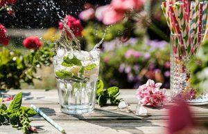 splash of lemonade