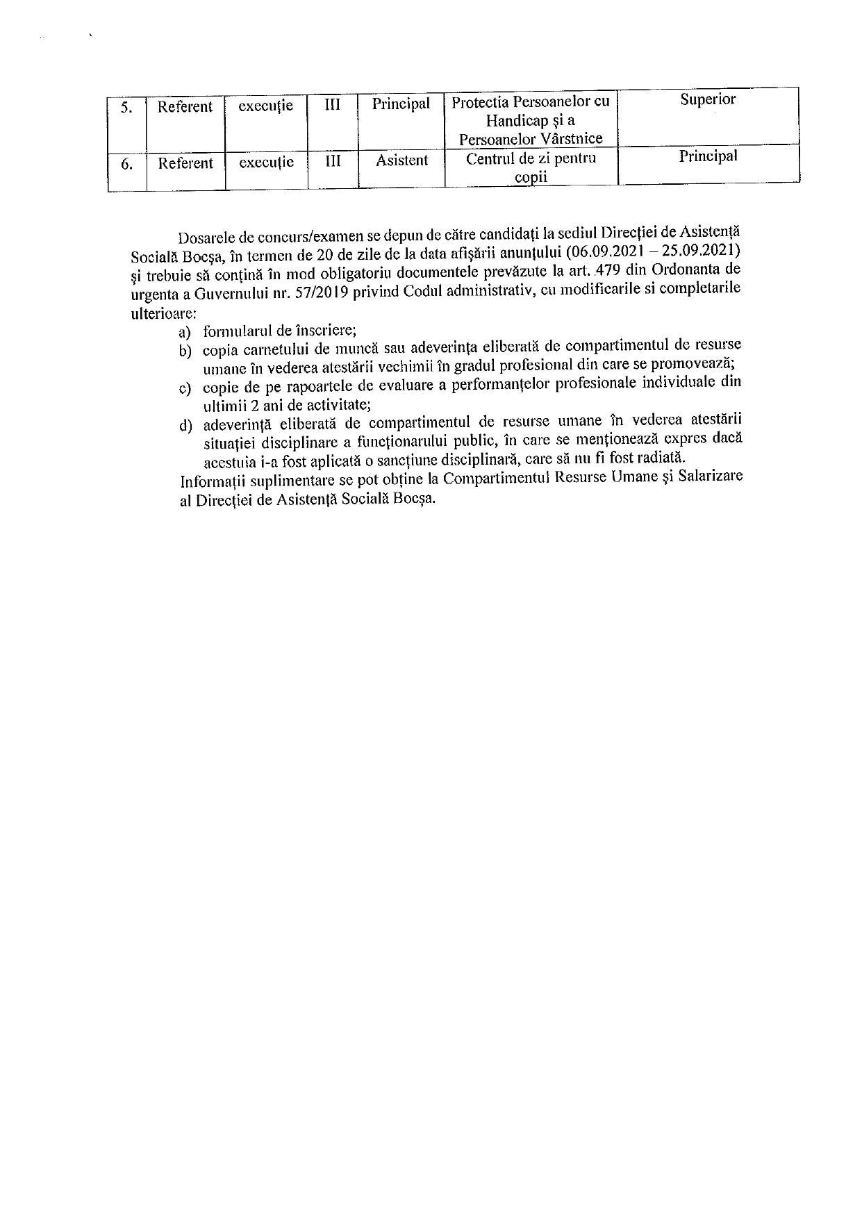 anunt concurs directia de asistenta sociala page 0002