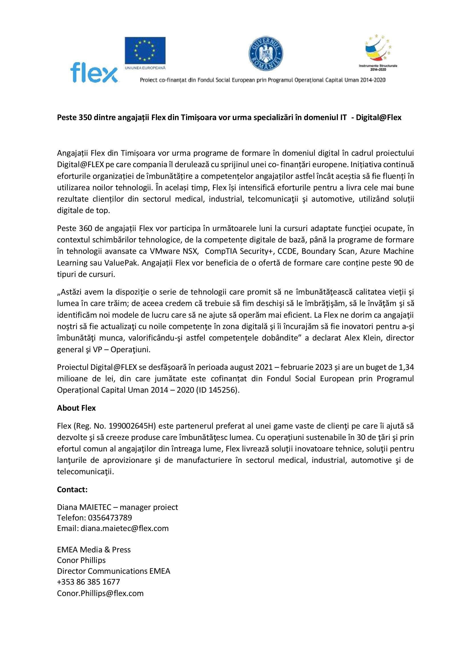 draft comunicat digitalflex fv 00001